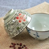 Wholesale AStyle Rice Bowl Tureens Underglaze Color Tableware Soup Hand Painted Craft