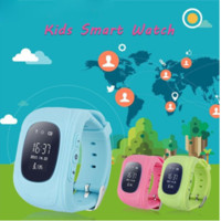 band positions - Q50 smart watch Cheap Kid Soft Wrist band Dual GPS GSM Position Tracker Anti lost Watch SOS MIC