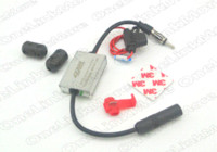 antenna interference - New Metal Car Antenna Radio FM Signal Amp Vehicle Mhz V Amplifier Universal Auto FM Booster strong anti interference