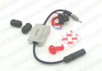 Precio de Car antenna amplifier-Nuevo Metal Antena de coche Radio FM Señal Amp Vehículo 88-108Mhz 12V Amplificador Universal Auto FM Booster fuerte anti-interferencia