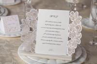 Wholesale Wedding Invitations Cards Personalized Floral Wedding Cards Invitations Printable Wedding Invitations Laser Cut Greeting Cards vcb6u