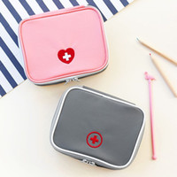 medical packaging - Travel first aid kit portable mini kit home storage bag portable small medicines kits medical kits admission package