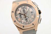 alligator leather strap - luxury brand new watch men royla oak offshore watch sports quartz chronograph Capolavoro Smoke Grey Alligator Strap watch men dress watches