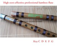 bamboo wire - professional dizi Chinese bamboo flute musical instrument copper joint coffee wiring in Key C D E F G cost effective price