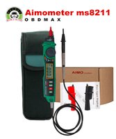 automotive battery voltage - Aimometer MS8211 Digital Pen Type Multimeter Multitester Handheld Meter DMM Non contact Voltage NCV Detector