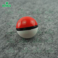 Wholesale Lovely Design Poke mon Food Grade Silicone Ball Container Jar ml for Dab Oil Dry herb Wax Box