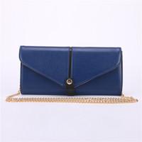 Wholesale PU Womens Clutch Bags Pillow Shape Clutch Chain Purse Lady Handbag Tote Shoulder Hand Bag Four Colors P800001