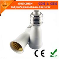 abs suspension - E27 Socket LED Pendant Light Lamp Holders Bases Screw Spiral Converter Adapter Bulb Hanging Suspension LED Pendant Lamp Light Bulbs Copper