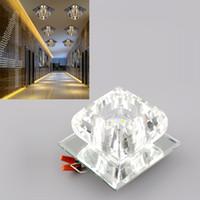 Wholesale New Modern Crystal Flower LED Bulb Bulbs Warm White Ceiling Chandelier Decor Decoration