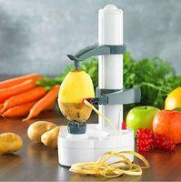Peelers & Zesters automatic fruit peeler - 12 set Electric Potato Peeler Automatic Pear Apple Fruit Cutter Slicer Kitchen Utensil Cooking Tools