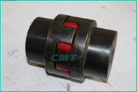 Wholesale New steel material Star Elasticity couplings XL NL ML Couplings Plum High Torque Coupler size is D L D1 D2 at MM