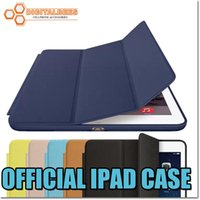 apple drops - quality Ipad case smart cover for Ipad mini Ipad Ipad air with retail package aniline dyed leather colorful protector