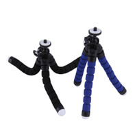 Universal Spong Flexible Mini Trípode Portable Soporte Octopus Soporte Soporte Monopod Para Teléfonos Móviles Cameras Videocámara NUEVO
