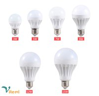 Wholesale E27 LED bulb light W W W W W W b22 bulb lamp SMD2835 V Energy saving Super Bright