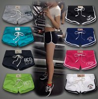 Wholesale 20colors Hot Casual Shorts for Women Shorts Leisure Jogging Shorts Women Sports Shorts Gym Workout Waistband Shorts Yoga pants S M L D632