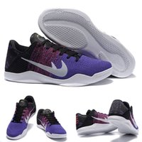 Cheap (With shoes Box) Kobe 11 XI Low BHM Black History Month 2016 Collection Hot Sale Men Shoes Free Shipping