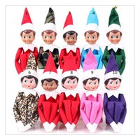 Wholesale New Style Christmas Elf Plush toys On The Shelf Elves Xmas dolls For Kids Holiday And Christmas Gift