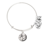 Wholesale Cheap jewelry silver granddaughter alex and ani bracelets bangle slide charms christmas gift dropshipping no MOQ
