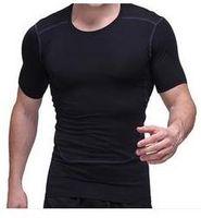 Precio de Capas base-Hombres Deporte Deportivo Base de Compresión Camisas bajo Tops Camisas Thermal Tees Top Alta Flexibilidad Skins Gear Wear Sport Vest