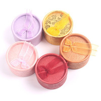 round cardboard gift box - 4 cm Bow Gift Boxes Jewelry Display Ring Boxes For Sale Earring Boxes Princess Crown Jewelry Box Round Cardboard Gift Boxes