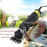 Wholesale Ship from EU Sheep Goats Wool Shearing Tools W Clipper Kit Animal Shears Speed Adjustment with DVD