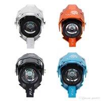 Wholesale Transformers Shape Universal Motorcycle LED Headlight Boat Headlamp Car Truck W Waterproof Fog Light