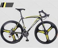 alloy steel bicycle - KOLUSI Speed Road Bike Bicycle Drop One wheel Shimano Transmission c Steel Frame Aluminum Handlebar Factory Outlet