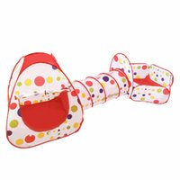 Wholesale Indoor Kids Play Tents Fencing for Children Baby Playpens Boys Girls Pipeline Crawling Huge Tunnel Toy House Ball Pool and Outdoor Tent