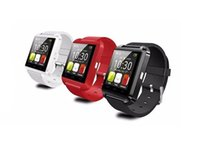 Wholesale HOT U8 Bluetooth Smart Watch U Watch with ALTIMETER Phonebook Call MP3 Alarm For Samsung S6 S5 NOTE Andriod Phone and iPhone plus S