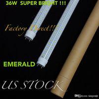 Wholesale 36W LED tube light FT fluorescent lamp T8 G13 V Shaped V lm mm feet ft tubes warm cold white Hottest
