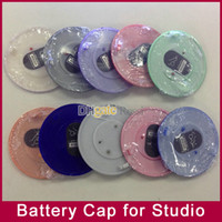 Wholesale Battery Cover Cap for Studio headphones accessories replacement repair part blue green orange red pink white silver purple