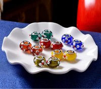 bead presses - Search new handmade glass outer petals pressed glass beads scattered beads European beads spacer beads jewelry accessories diy