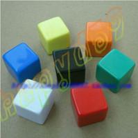 Wholesale new MM blank dice paintless plain engravable DIY poker Gambling dice ktv dice chess Board game teaching dice