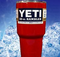 beer mug sports - YETI Tumbler Rambler Cups YETI Coolers Cup oz Red YETI Sport Beer Cup Stainless Steel Travel Mug