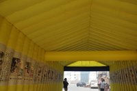 banquet tents - Shed double inflatable white matter Lingpeng anniversary banquet tent arches