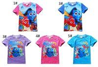 baby clown fish - Kids Finding Dory T Shirts Nemo Dory Shirts Girl Finding Dory Tops Baby Clown Fish Tees Nemo Dory Short Sleeve Shirt Baby Clothing