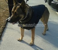 Wholesale K bulletproof vest for dog level NIJ IIIA K9 officer vests