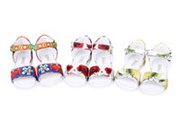 kids fabric cotton - Wlmonsoon Summer Toddler Girl Sandals Shoes Fashion Girls Sandals Floral Soft Baby Shoes Children Flower Kids Girls Casual Beach Shoes