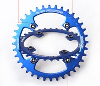 Wholesale MTB Mountain Bike Bicycle Aluminium Crankset Disc ChainWheel Tooth Slice BCD96 T T T Round Oval Chain Wheel