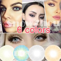 Wholesale 1pair Amazing new colors WORLD contact lenses colors color contact lenses DHL shipping Recognized comsmetic contact lenses