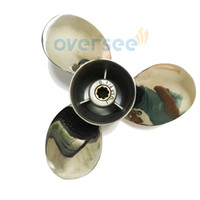 Wholesale 63V EL size x10 Stainless Steel Propeller Replaces For Yamaha Outboard Engine Motor HP HP V B4 Model