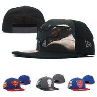 batman cap sale - Hot Marvel Comics Batman Snapback Superman Caps Hats Snapbacks Snap Back Hat Men Women Baseball Cap Cheap Sale