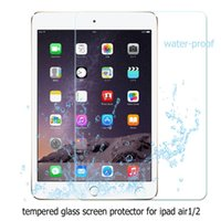 air body protector - 200pcs mm Premium Explosion Proof Tempered glass for ipad air ipad Tablet Original Anti Shatter Screen Protector film