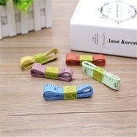Wholesale M Practical Body Measuring Ruler Sewing Tailor Tape Measure Soft Flat Inch