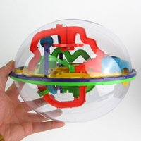 Wholesale 935A Magic gravity maze ball hurdle D three dimensional maze game Pocket balance gravity maze ball Children s educational toys