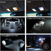 Wholesale 8Pcs Xenon White Premium Package Kit LED Interior Lights For KIA Sorento led light tap