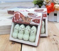 Wholesale Mixed Sale Guaranteed New Peanuts eraser funny face eraser with Price