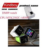 magic cards - 2016 New DM09 Bluetooth Smart Watch Phone Support SIM Card D ARC HD Screen Camera Wearable SmartWatch Magic Knob Sync For Android