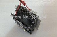 achat en gros de peltier dissipateur de chaleur-Livraison gratuite 1x système de refroidissement thermo-électrique Système de refroidissement Kit de bricolage Kit de dissipateur de chaleur avec Peltier TEC1-12706