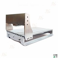 Wholesale Include tax fr uk Customized DIY CNC Engraver Frame kit ball screw optical axis bearing and spindle clamp
